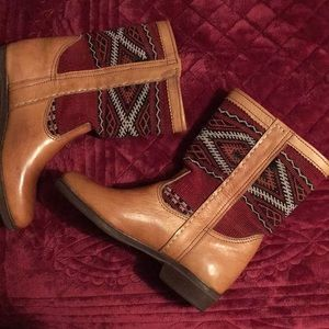 Shoes - NEW Authentic Moroccan Kilim Boots